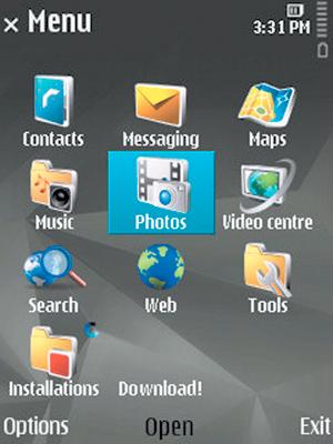 экран Nokia N78